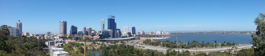 Perth Panorama Kings Park